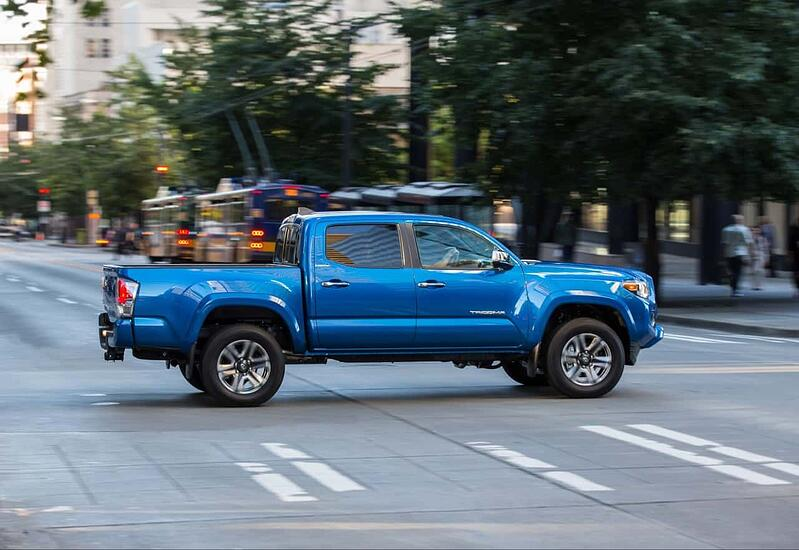 2016 Toyota Tacoma Limited Review and Test Drive