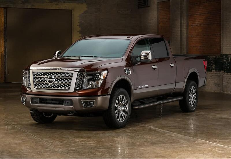 2016 Nissan Titan XD Diesel Review and Test Drive