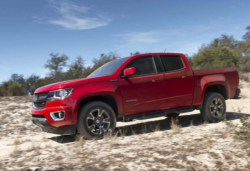 2017 Chevrolet Colorado Crew Cab LT Review and Test Drive