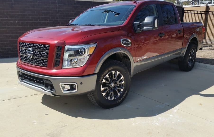 2017 Nissan Titan Pro-4X Review and Test Drive