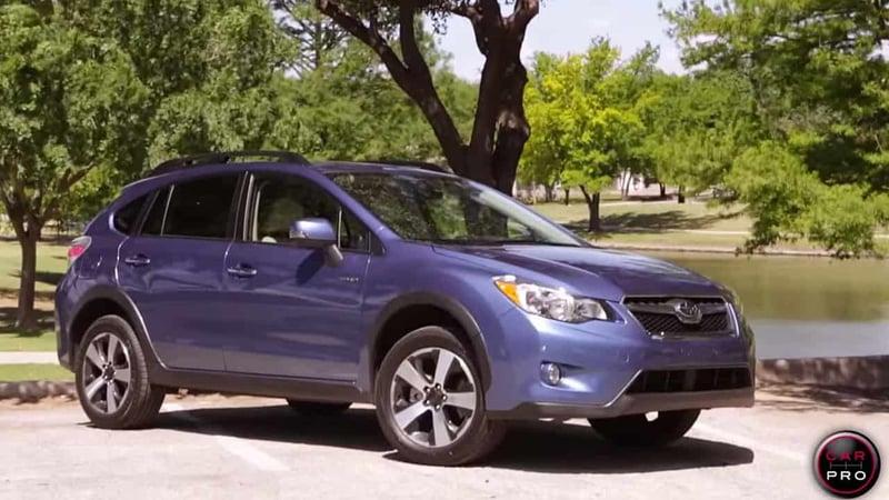 2014 Subaru XV Crosstrek Hybrid Touring Review and Test Drive