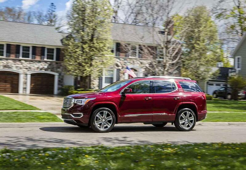2017 GMC Acadia Denali Review and Test Drive