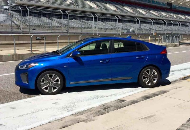 2017 Hyundai Ioniq Hybrid Limited Test Drive