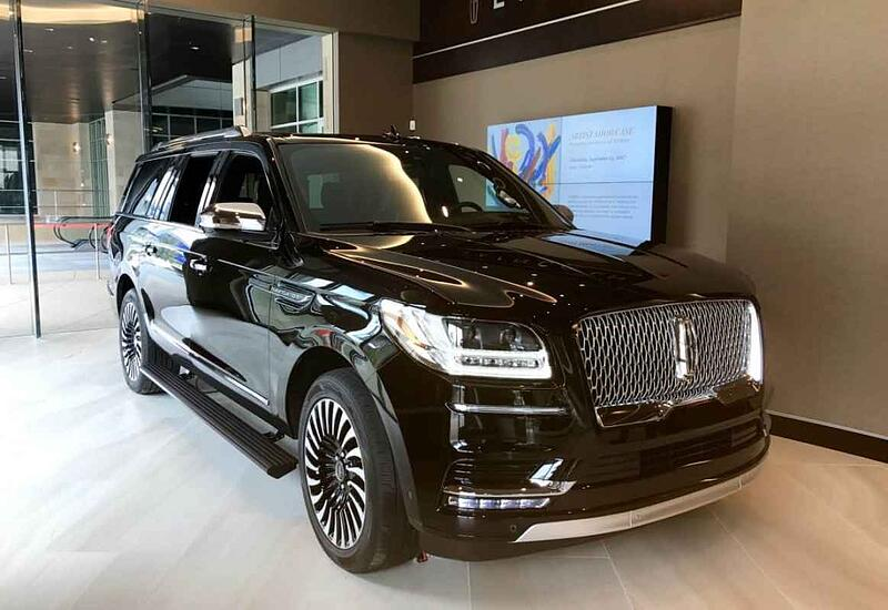 2018 Lincoln Navigator Black Label L Video and Photos