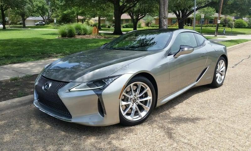 2018 Lexus LC 500h Test Drive