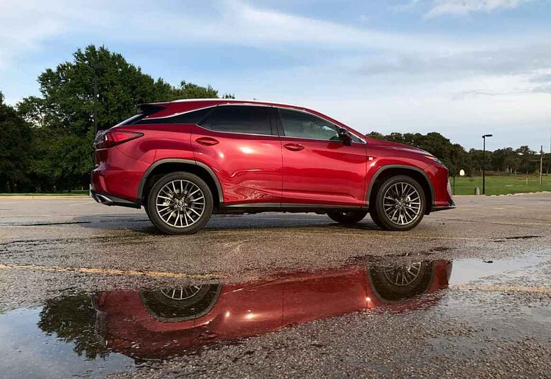 2017 Lexus RX 350 F Sport Review and Test Drive