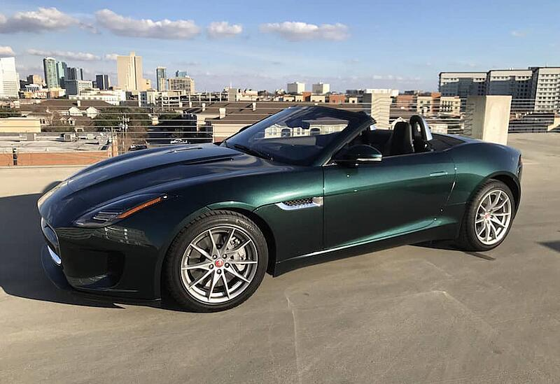 2018 Jaguar F-Type 2.0T Convertible Test Drive