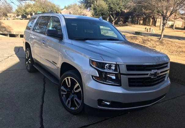 2018 Chevrolet Tahoe RST Test Drive and Review
