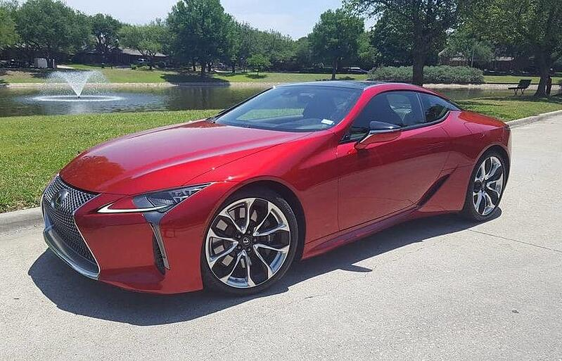The 2018 Lexus LC 500 Coupe Is One Seriously Sultry Cruiser