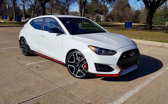 2019 Hyundai Veloster N Review and Test Drive