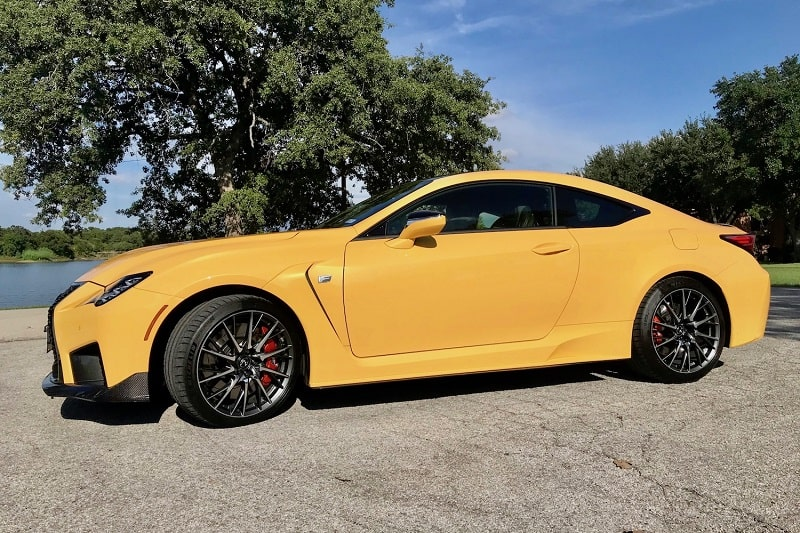 2020 Lexus RC F Performance Review and Test Drive