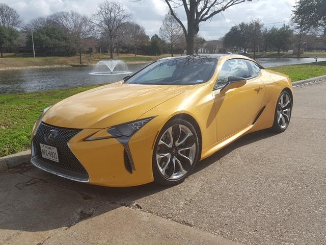2020 Lexus LC 500 Coupe Review