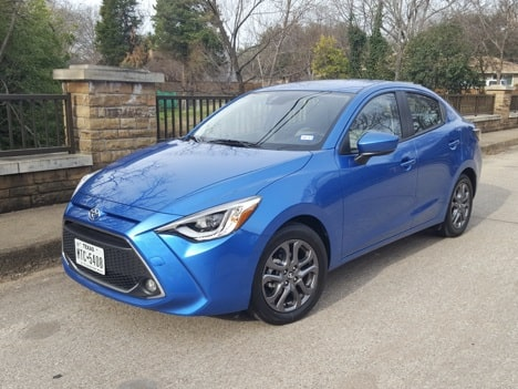 2020 Toyota Yaris XLE Review