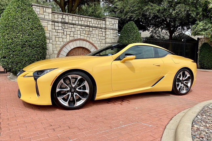 2020 Lexus LC 500 Coupe Review and Test Drive.