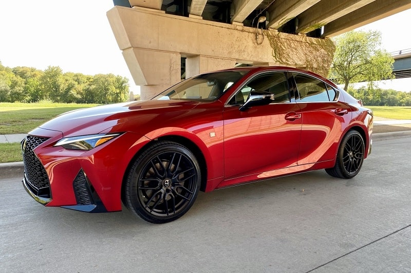 2021 Lexus IS 350 F Sport AWD Review and Test Drive