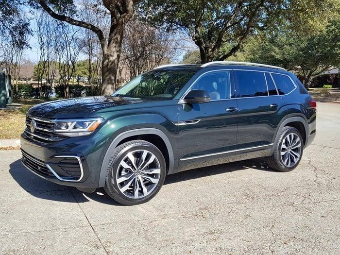 2021 Volkswagen Atlas SEL Premium R-Line Review