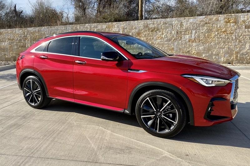 First Drive: 2022 INFINITI QX55 Sensory AWD