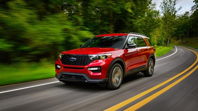 Ford Expands 2022 Explorer ST Family