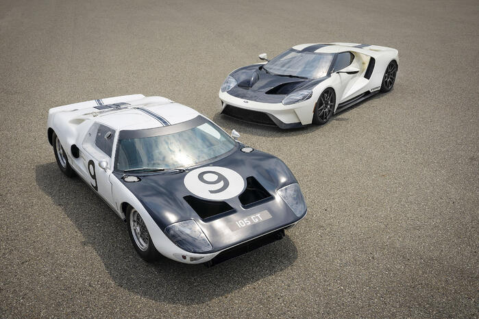 New Ford GT Heritage Edition Pays Tribute To 1964 Prototypes
