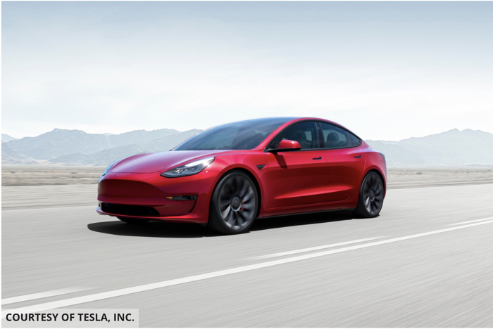 Tesla Model 3 Tops List Of Most American-Made Vehicles