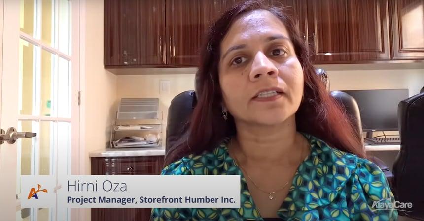 Storefront Humber Inc. Testimonial - AlayaCare Home Care Software