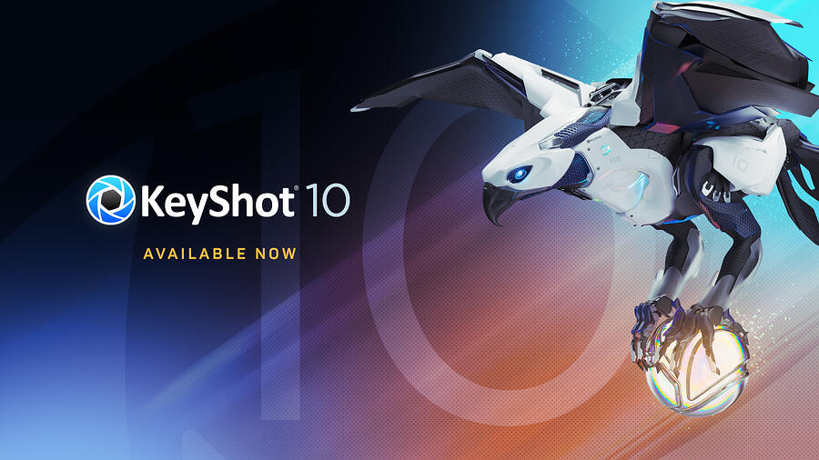 KeyShot 10 Now Available