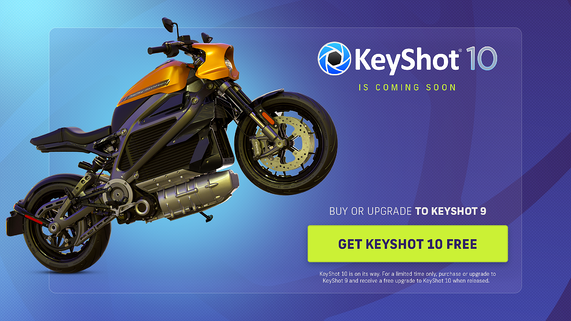 Buy or Upgrade to KeyShot 9, Get KeyShot 10 Free