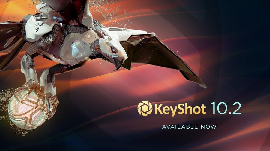 KeyShot 10.2 Now Available