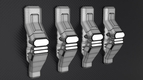 How to Use the KeyShot Mesh Simplification Tool