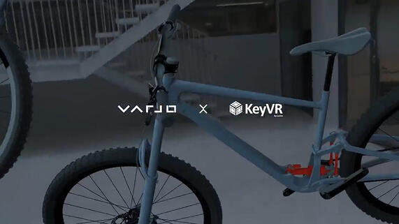 The Latest Mixed Reality Experience with Varjo and KeyVR