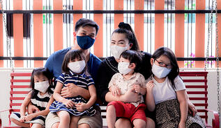 Family-with-Masks