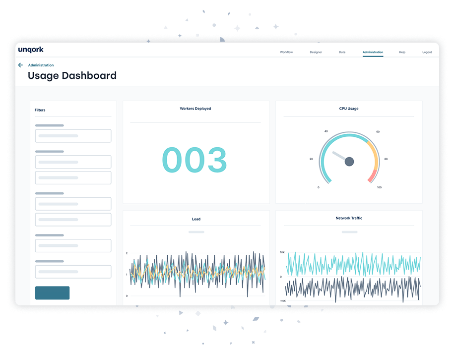 Metrics Product Screen
