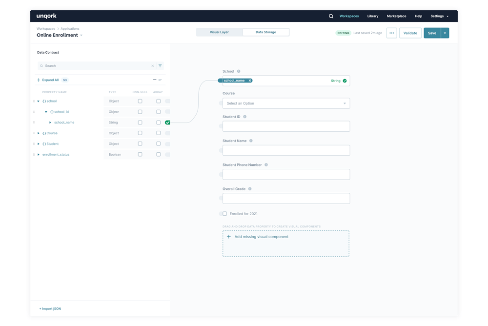 visually Configured APIs