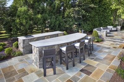 outdoor kitchen design ashbur aldie leesburg va