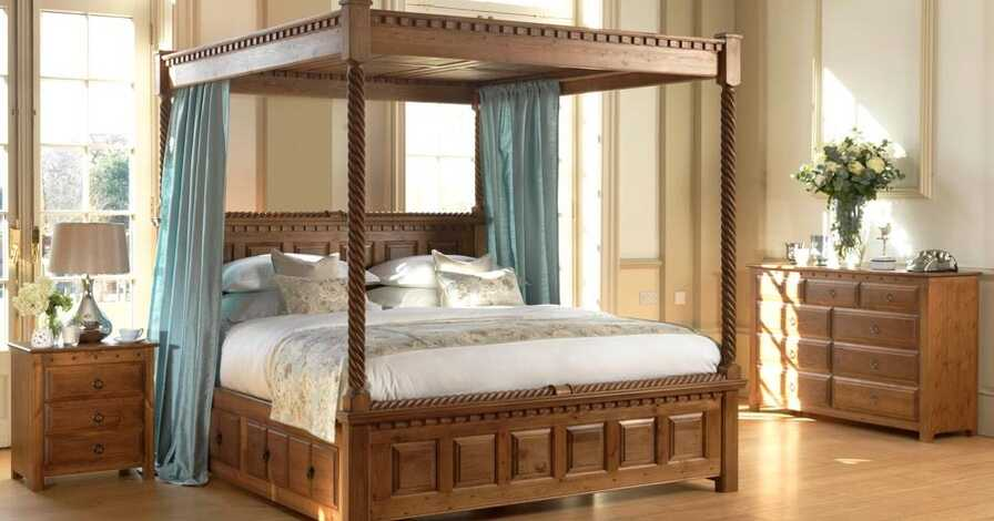 handcrafted four poster bed county kerry
