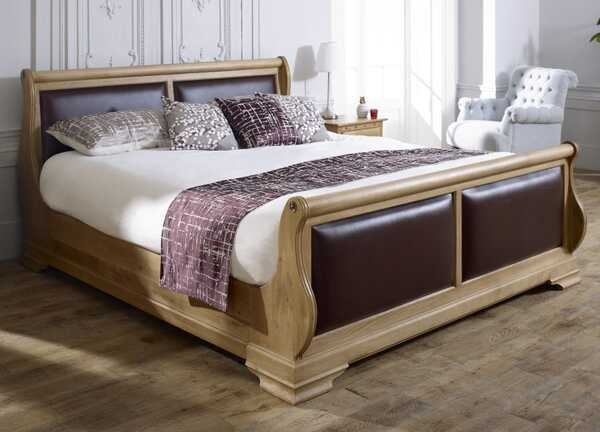 great gatsby themed hardwood bed