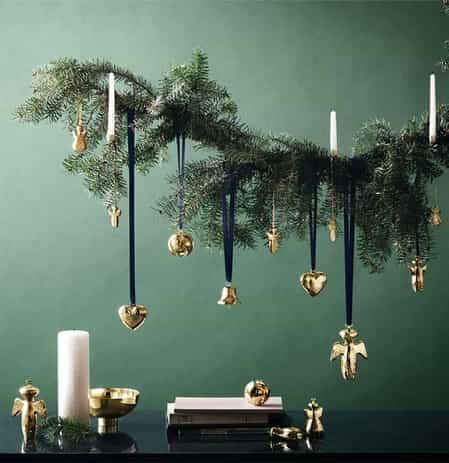 dark christmas decorations