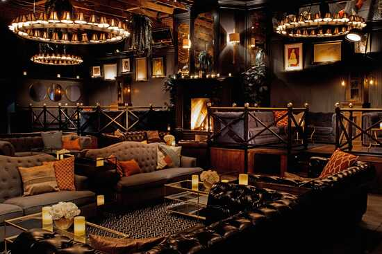 speakeasy themed bedroom