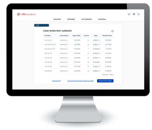 private fund manager compliance software