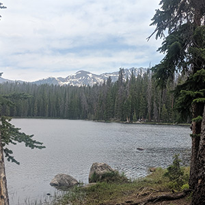 Hiking Lost Lake in the Gore Range near Vail