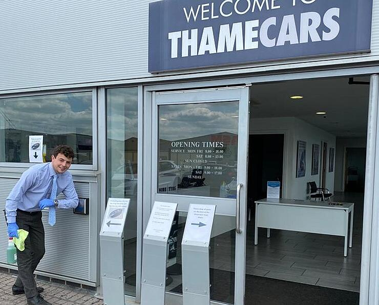 Thame Cars safety in automotive during a pandemic