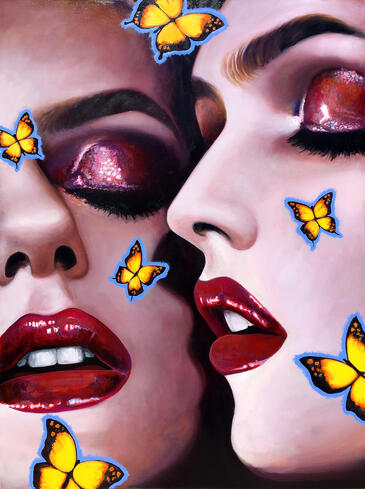BUTTERFLY_KISS.67x50inches