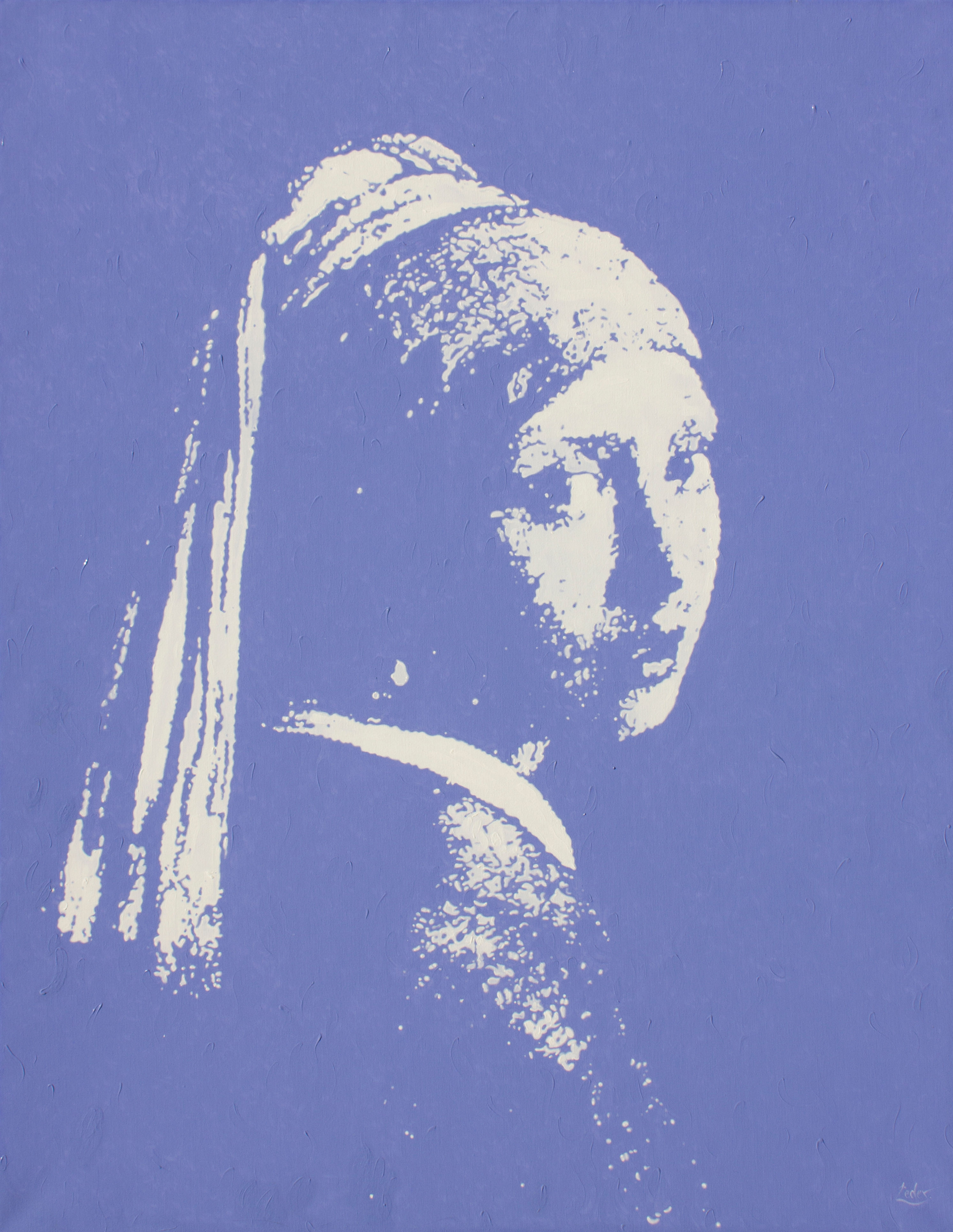 Deja Vu Vermeer - 71 x 55 in - SOLD