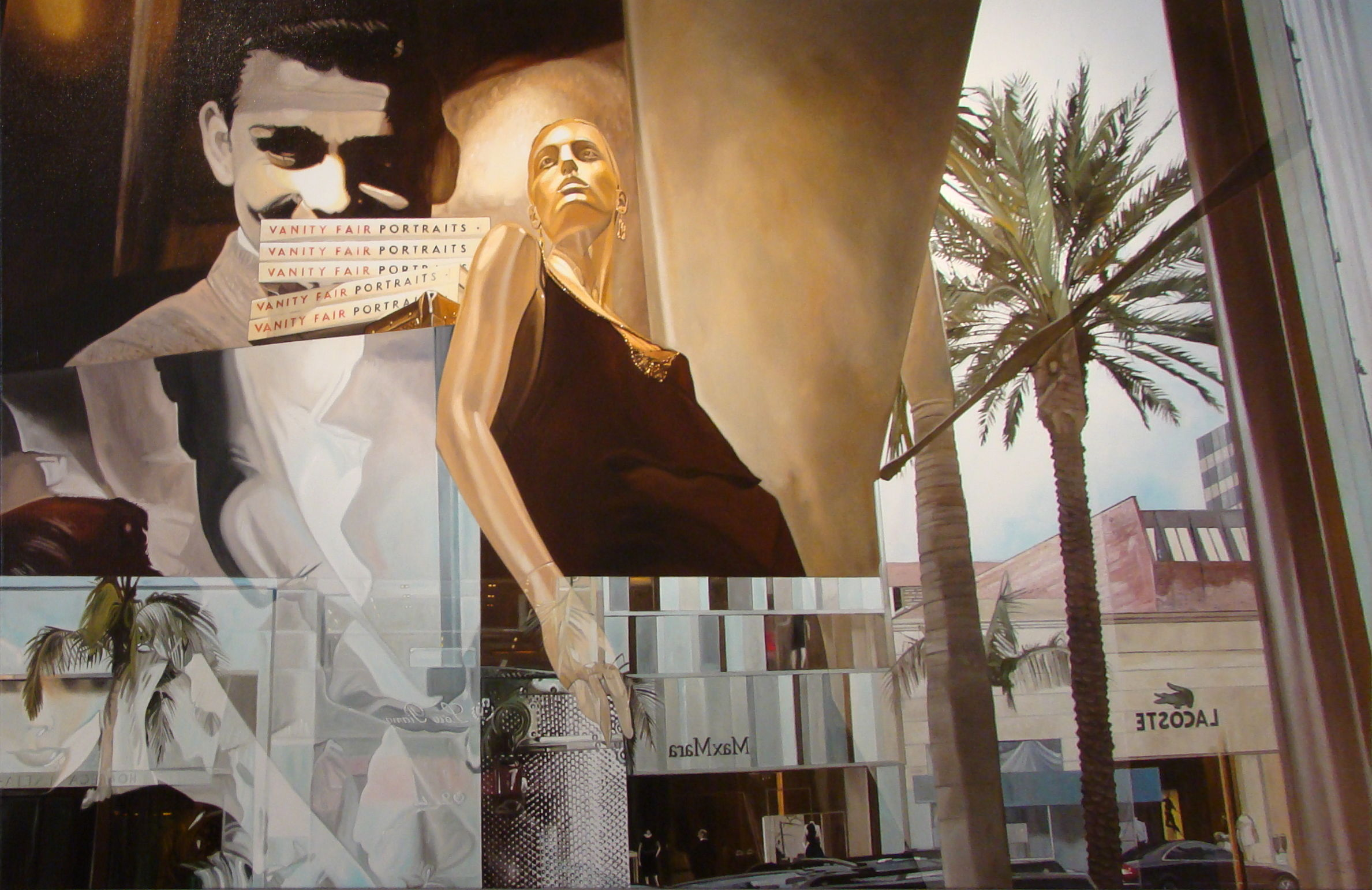 Rodeo Drive - 55 x 90 in - SOLD