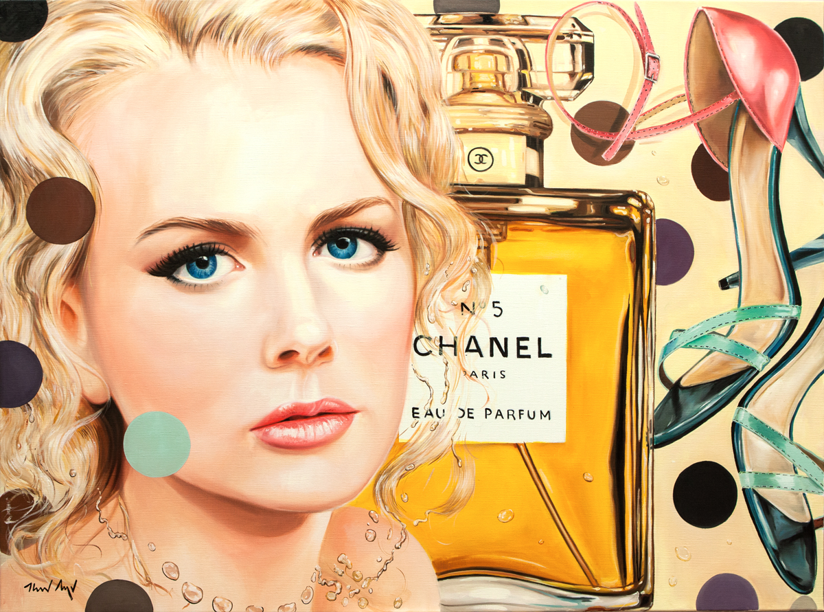 Chanel - 47 x 63 in