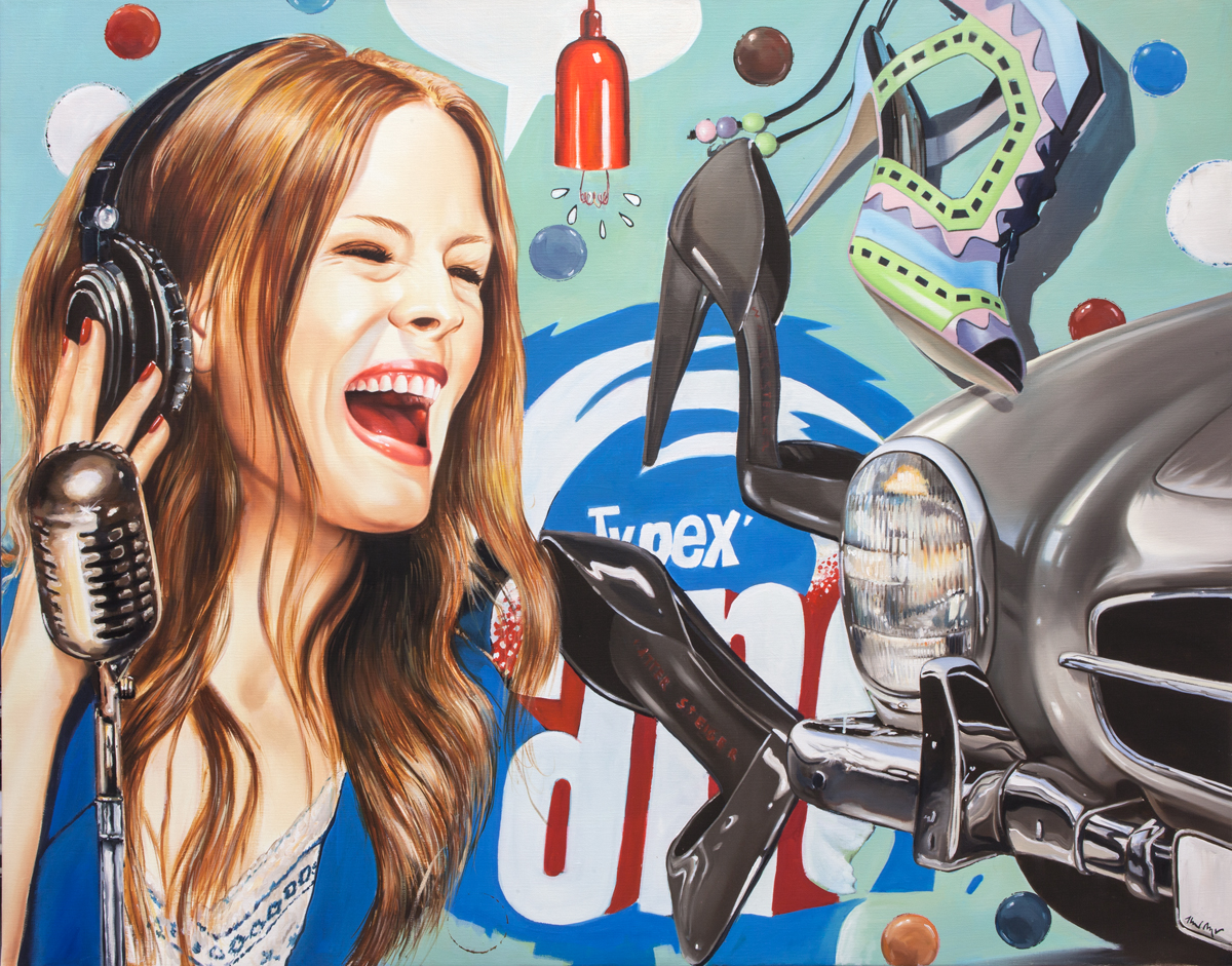 Hear the Music - 43.25 x 55 in