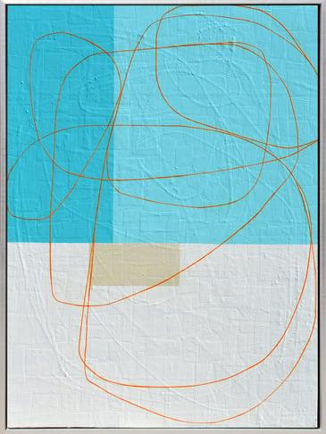 Segal - Coming Back - 42 x 32 framed