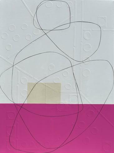 Segal - Raspberry - 40 x 30