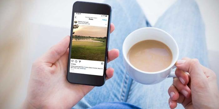 Golf Course Social Media