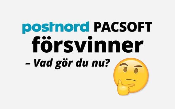 pacsoft postord